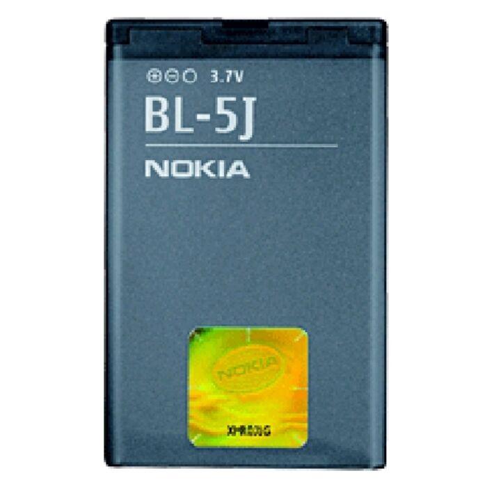 Nokia 5230, 5800, X6, gyári típusú akkumulátor, 1430 mAh (BL-5J)