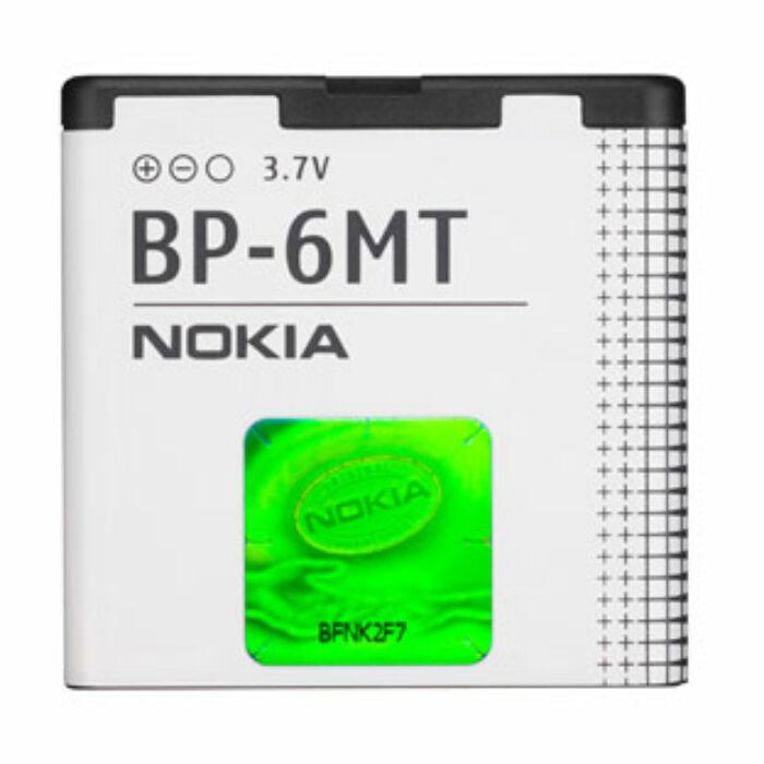 Nokia 6110, 6500, E51, gyári típusú akkumulátor, 1050 mAh (BP-6MT)