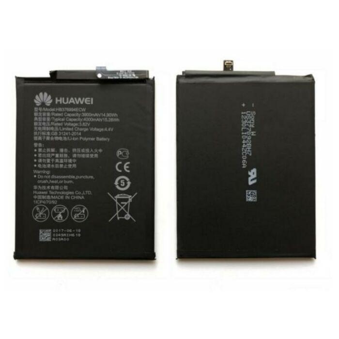 Gyári típusú akkumulátor Huawei Honor 8 Pro típusú készülékhez, 4000 mAh (HB376994ECW)