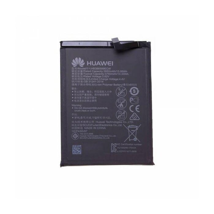 Huawei Mate 20 Lite, P10 Plus, Honor View 10, Nova 3, gyári típusú akkumulátor, 3750 mAh (HB386589ECW)