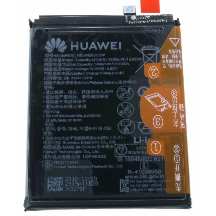Gyári, eredeti akkumulátor Huawei P Smart 2019 (POT-LX1), Honor 10 Lite (HRY-LX1) típusú készülékhez, 3400 mAh (HB396286ECW)