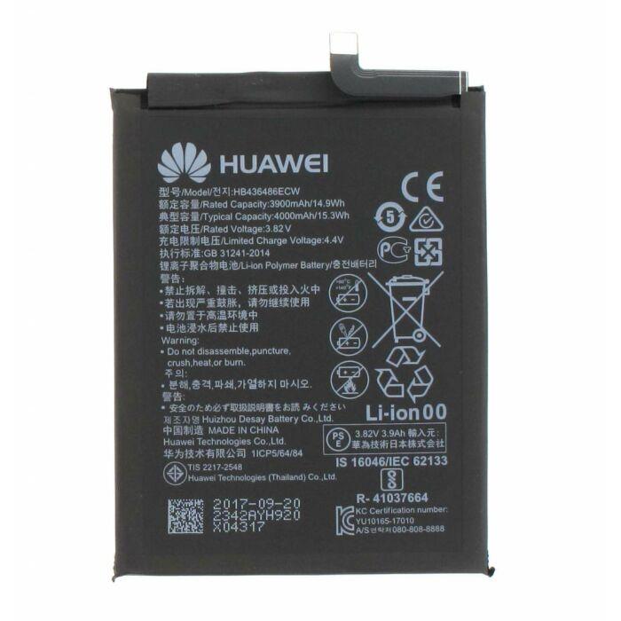 Huawei P20 Pro, Mate 10, Mate 10 Pro, gyári típusú akkumulátor, 4000 mAh (HB436486ECW)