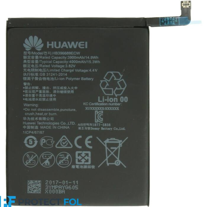 Gyári típusú akkumulátor Huawei P40 Lite, Mate 30 Pro típusú készülékhez, 4200 mAh (HB486586ECW)