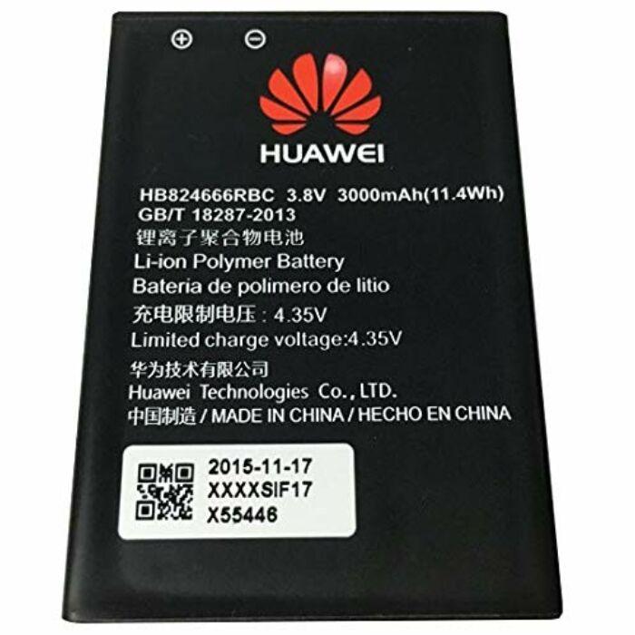 Gyári típusú akkumulátor Huawei Wireless Router E5577s típusú készülékhez, 1500 mAh (HB824666RBC)