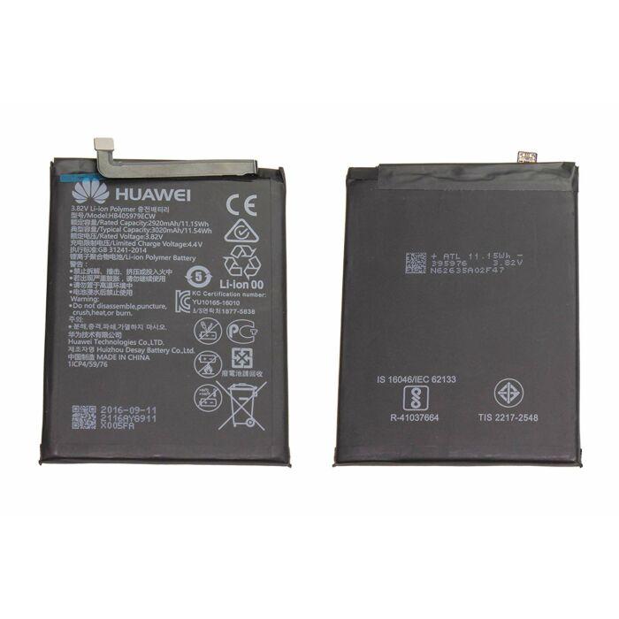Huawei Y6 (2019) (MRD-LX1F), Nova (CAN-L01), Y5 (2017) (MYAL02), gyári típusú akkumulátor, 3020 mAh (HB405979ECW)