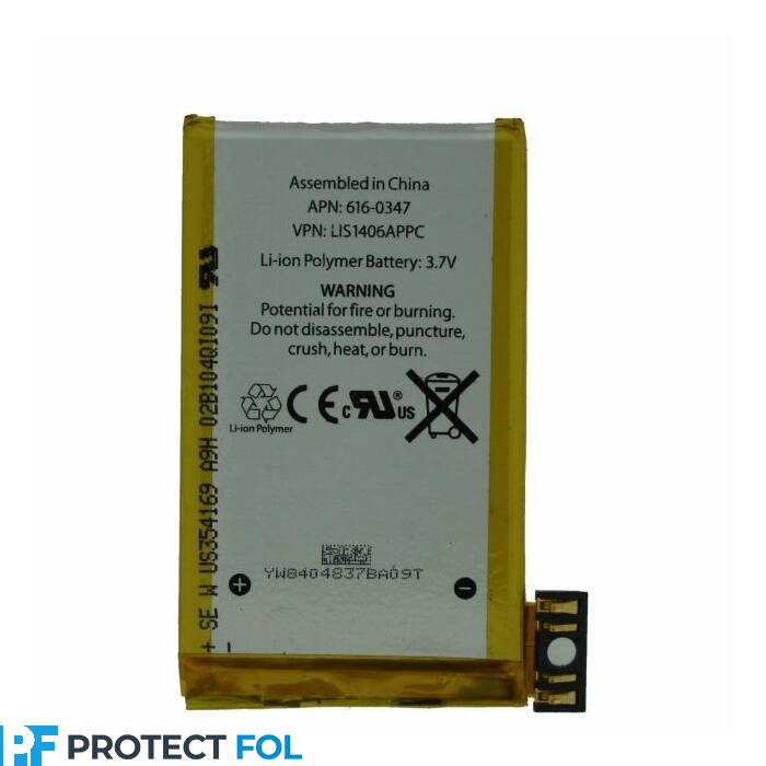 Apple iPhone 3g, gyári típusú akkumulátor, 1300 mAh (616-0347, 616-0428)