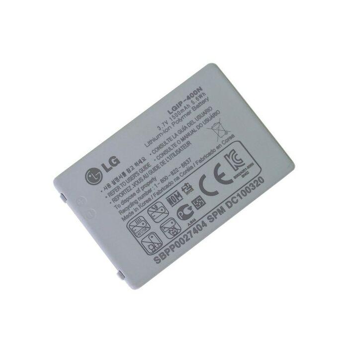 LG LS670, GT540, gyári típusú akkumulátor, 1500 mAh (LGIP-400N)