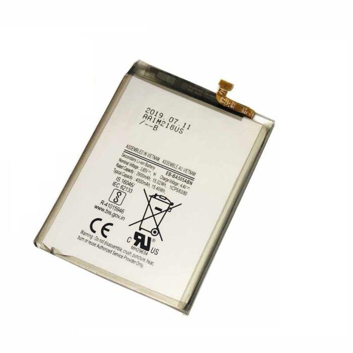 Samsung Galaxy A50 (A505), gyári típusú akkumulátor, 4000 mAh (EB-BA505ABU)