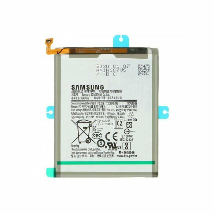 Gyári, eredeti akkumulátor Samsung Galaxy A71 (A715) típusú készülékhez, 4370 mAh (EB-BA715ABY)