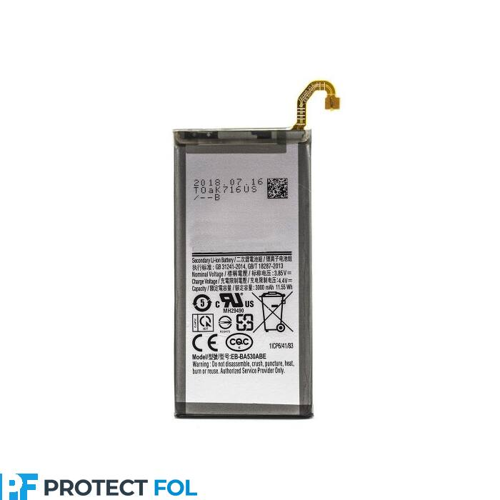 Samsung Galaxy A8 (2018), (A530), gyári típusú akkumulátor, 3000 mAh (EB-BA530ABE)
