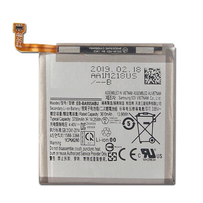 Gyári típusú akkumulátor Samsung Galaxy A80 (A805), A90 (A905) típusú készülékhez, 3610 mAh (BJ120CBE)