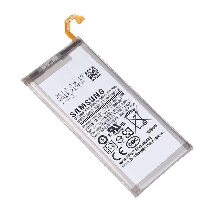 Gyári típusú akkumulátor Samsung Galaxy J6 (2018), (J600) típusú készülékhez, 3000 mAh (EB-BJ800ABE)