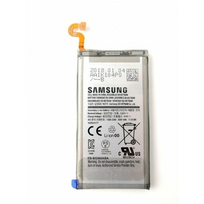 Samsung Galaxy S9 (G960), gyári típusú akkumulátor, 3000 mAh (BG960ABA)