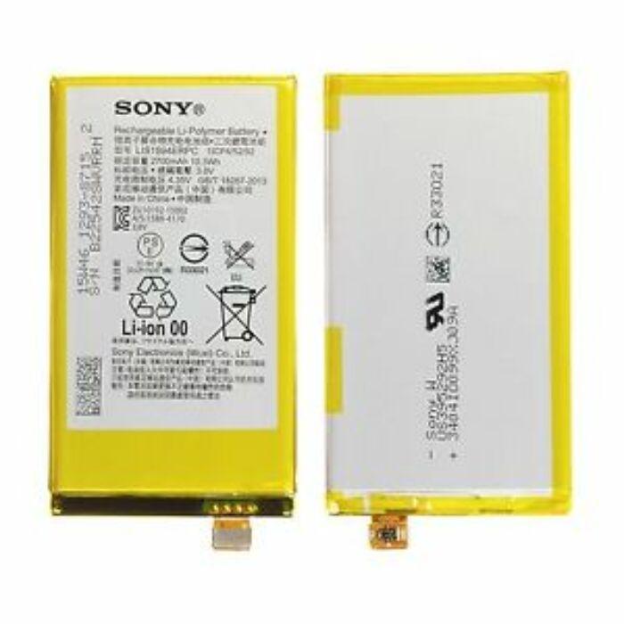 Gyári típusú akkumulátor Sony Xperia Z5 Compact (E5803, E5823) típusú készülékhez, 2700 mAh (LIS1594ERCP)
