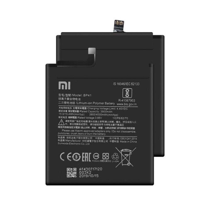 Gyári típusú akkumulátor Xiaomi Mi 9T típusú készülékhez, 3900 mAh (BP41)