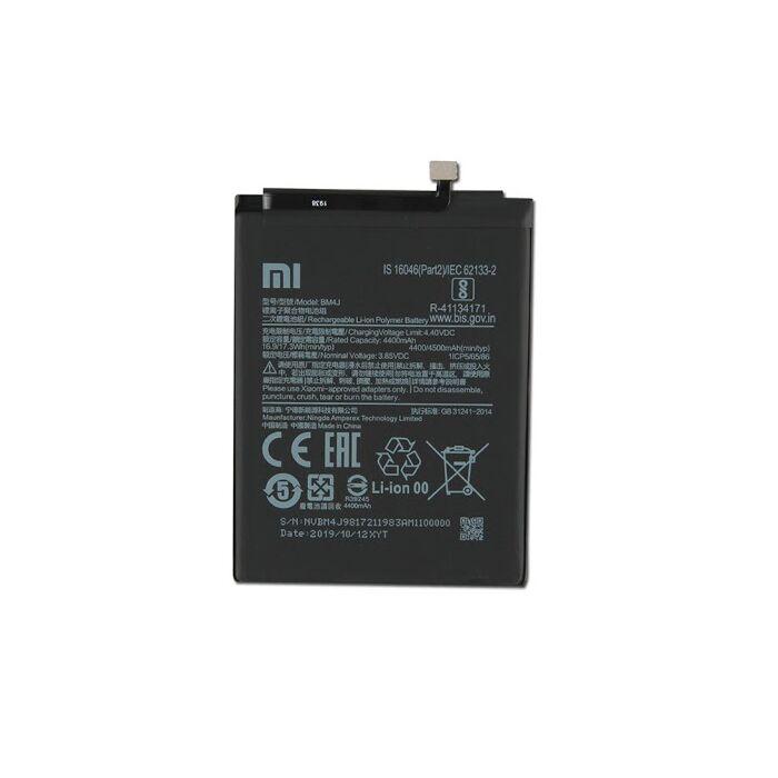 Gyári típusú akkumulátor Xiaomi Redmi Note 8 Pro típusú készülékhez, 4400 mAh (BJM)