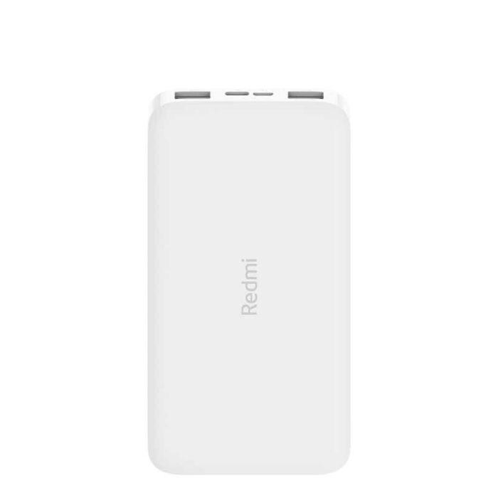 Xiaomi Redmi Power Bank, külső akkumulátor 10000 mAh-s 2xUSB, fehér