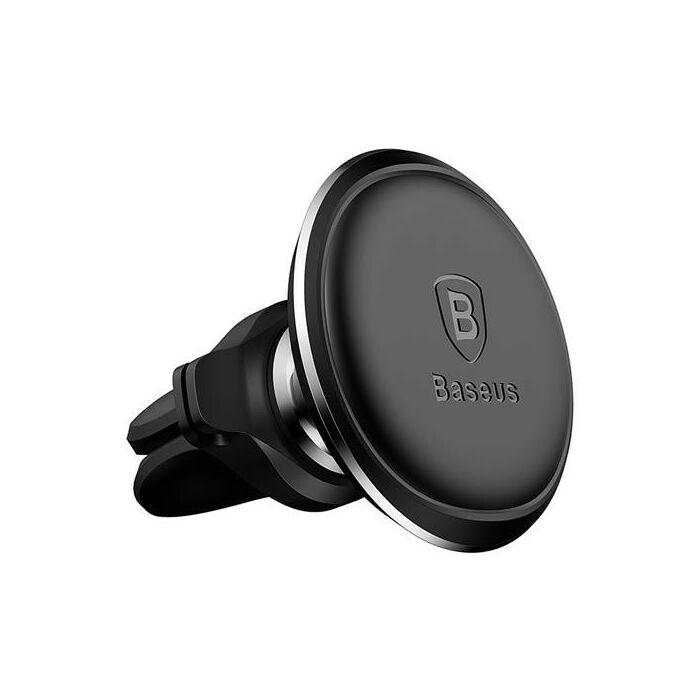 Baseus mágneses autós tartó szellőző rácsba (SUGX-A01), fekete
