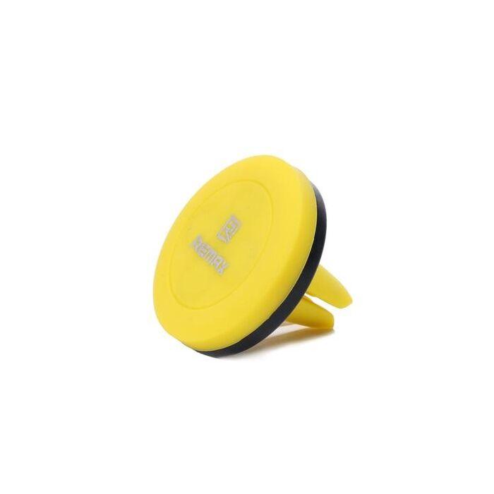 Remax, mágneses autós tartó szellőző rácsba (RM-C10), sárga