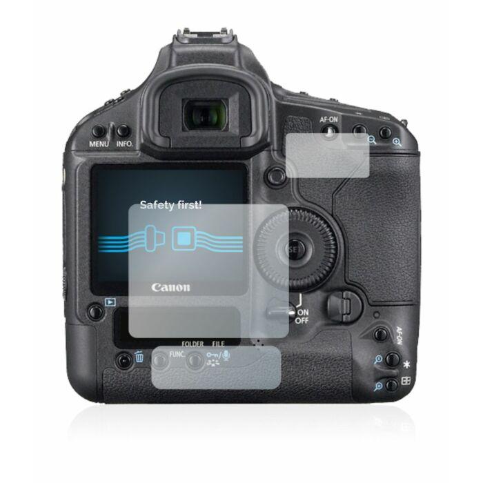 6db-os Savvies SU75 kijelzőfólia, Canon EOS 1Ds Mark III típusú fényképezőhöz
