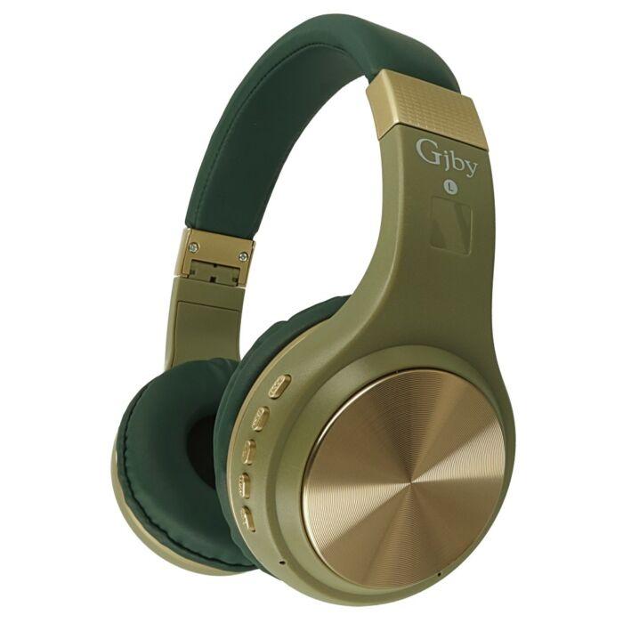 GJBY bluetooth fejhallgató, headset (CA-010), zöld