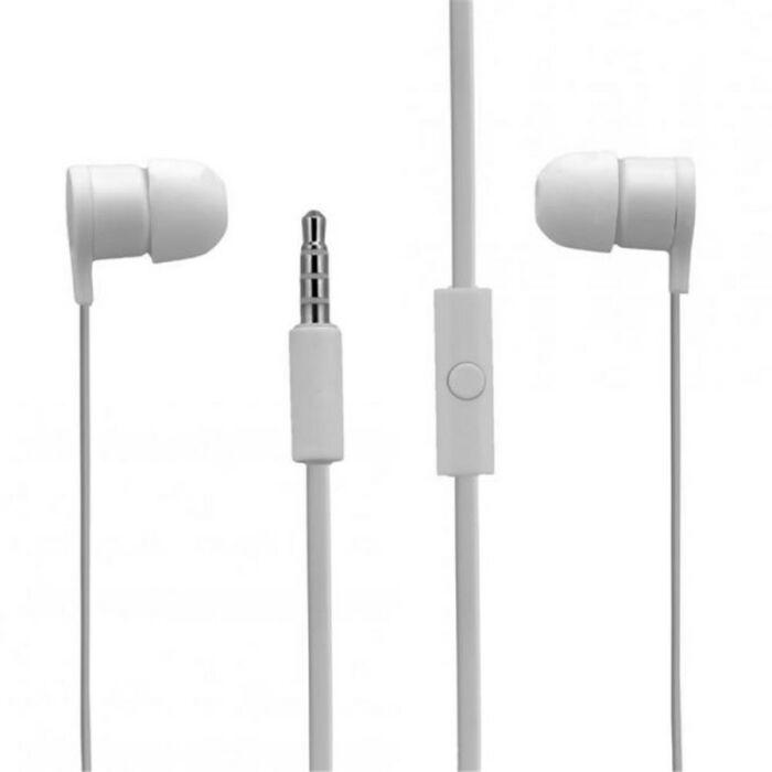 HTC gyári típusú vezetékes sztereó headset RC-E295 (3,5mm jack), fehér