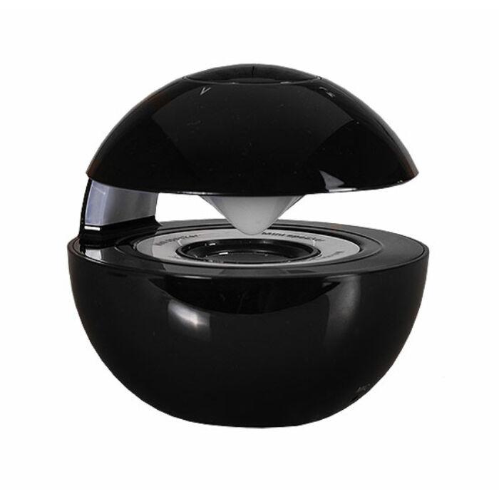 LED Ball bluetooth-os hangszóró, fekete