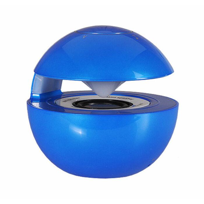 LED Ball bluetooth-os hangszóró, kék
