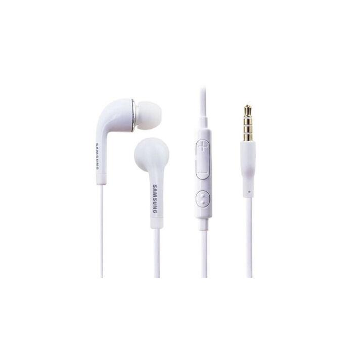 Samsung Galaxy S5 gyári típusú vezetékes sztereó headset EG900BW (3,5mm jack), fehér