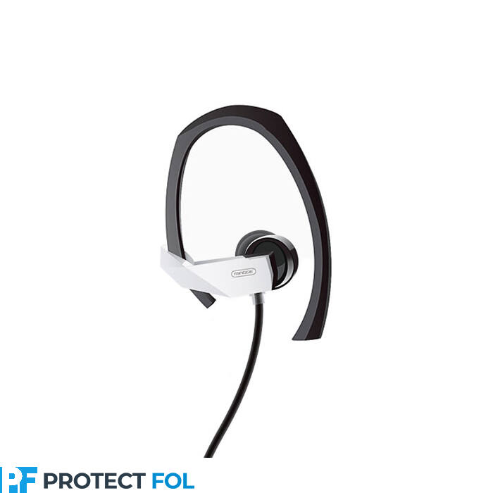 Mingge M23 sport vezetékes sztereó headset (3,5mm jack), fekete