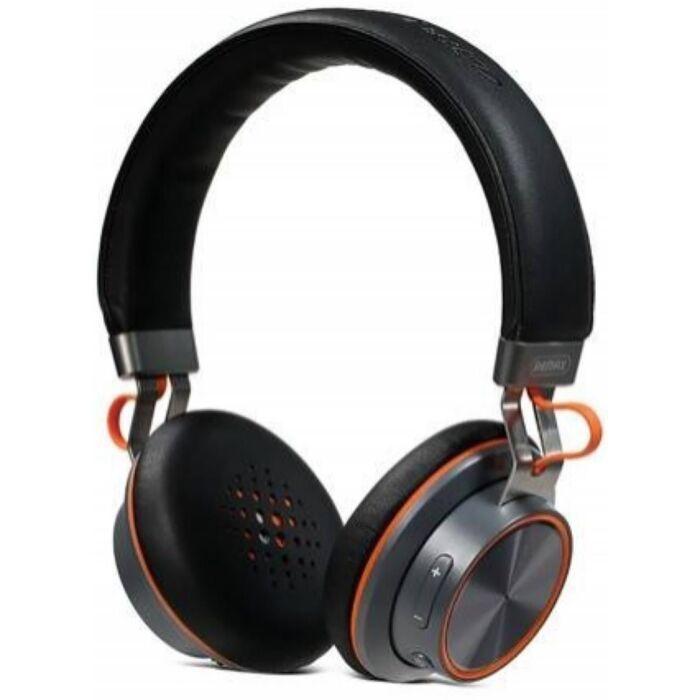 Remax bluetooth fejhallgató, headset RB-195, fekete