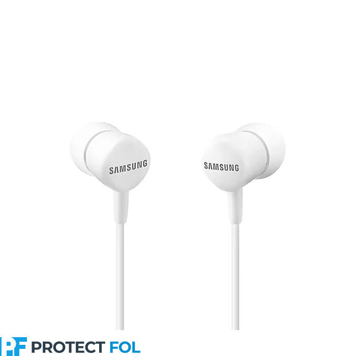 Samsung gyári típusú vezetékes sztereó headset BLISTERES EO-HS1303 (3,5mm jack), fehér