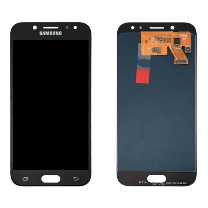 Samsung Galaxy J5 (2017) (J530), eredeti, gyári LCD kijelző érintőpanellel (GH97-20880A), fekete