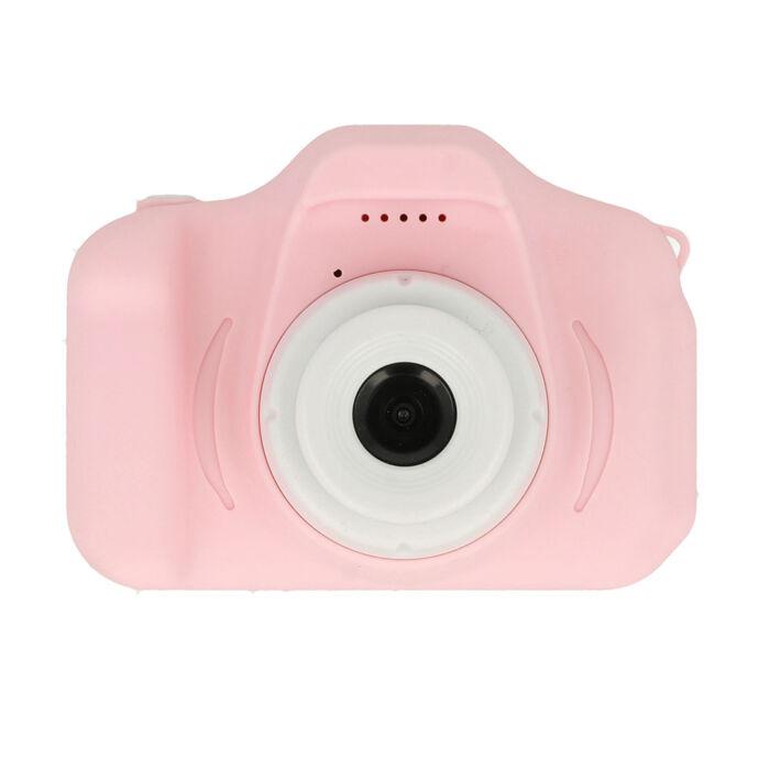 Digitális mini fényképező gyerekeknek 720p, pink