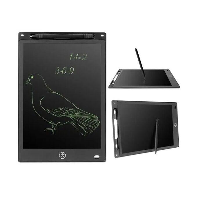"""Digitális rajztábla gyerekeknek, 10"""" LCD, ultra vékony, fekete"""