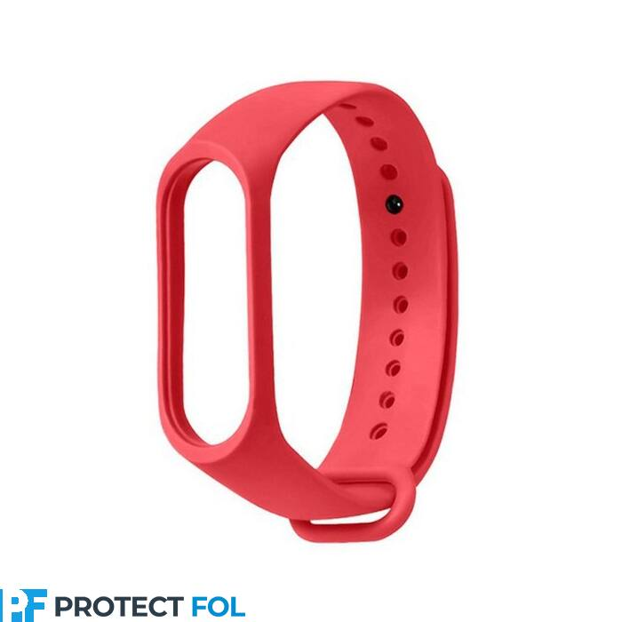 Fitness karkötő, okos karkötő szilikon szíj (M3, M4, M5), piros