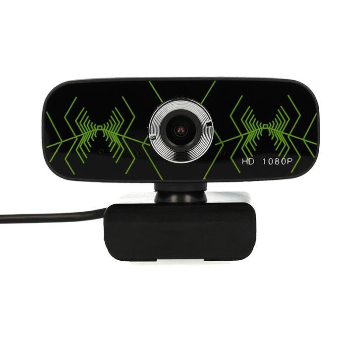 Webkamera mikrofonnal, Full HD, USB vezetékes, 1080p (B5)