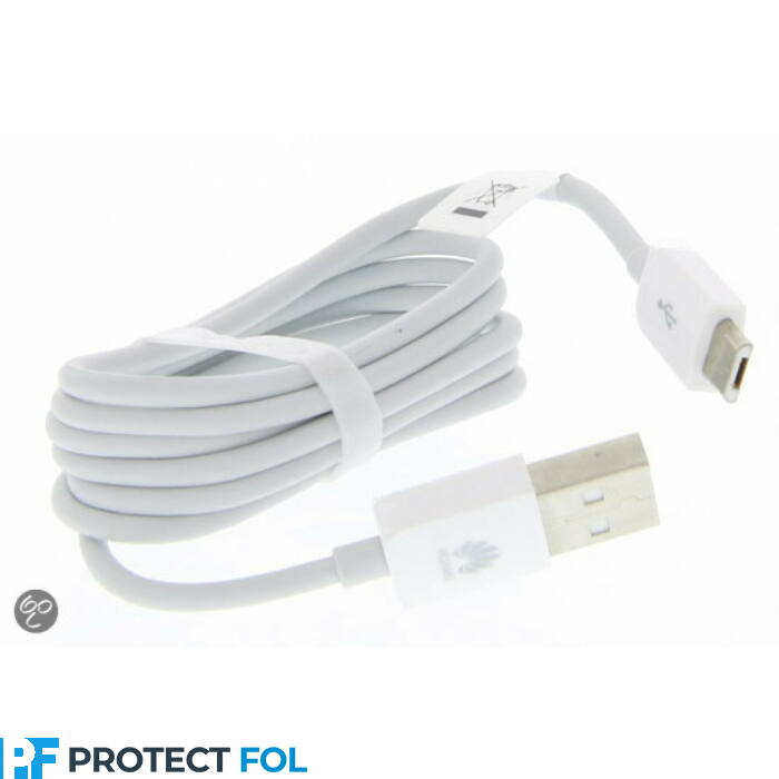 Huawei eredeti, gyári micro USB kábel (C02450768A), fehér