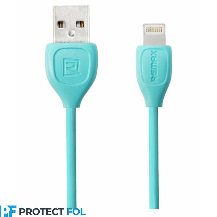 Remax Lesu Apple iPhone 5, 6, 7, 8, X, 11, lightning USB kábel 1M (RC-050i), kék