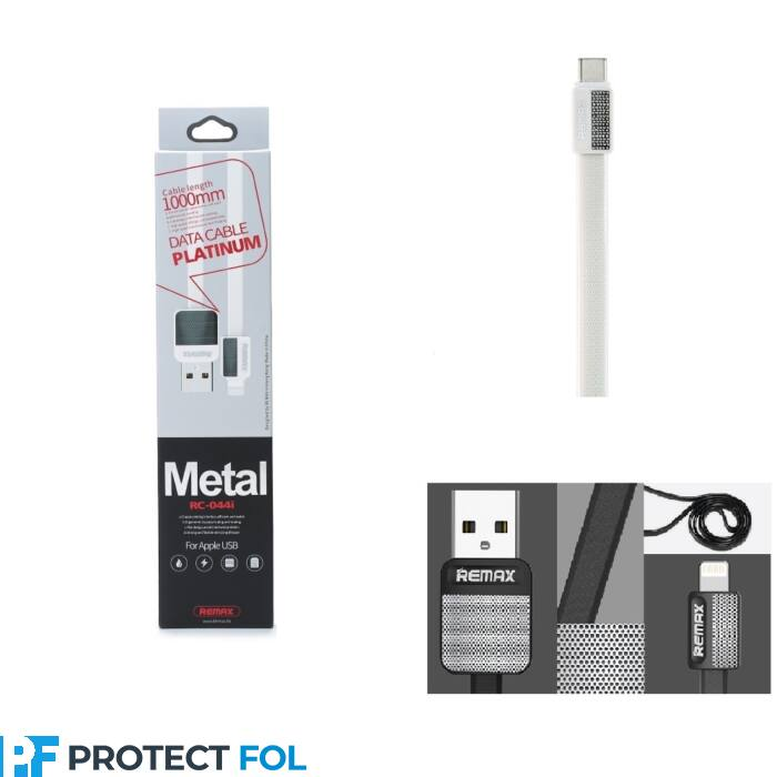 Remax Platnum type-c USB kábel 1M (RC-044a), fehér