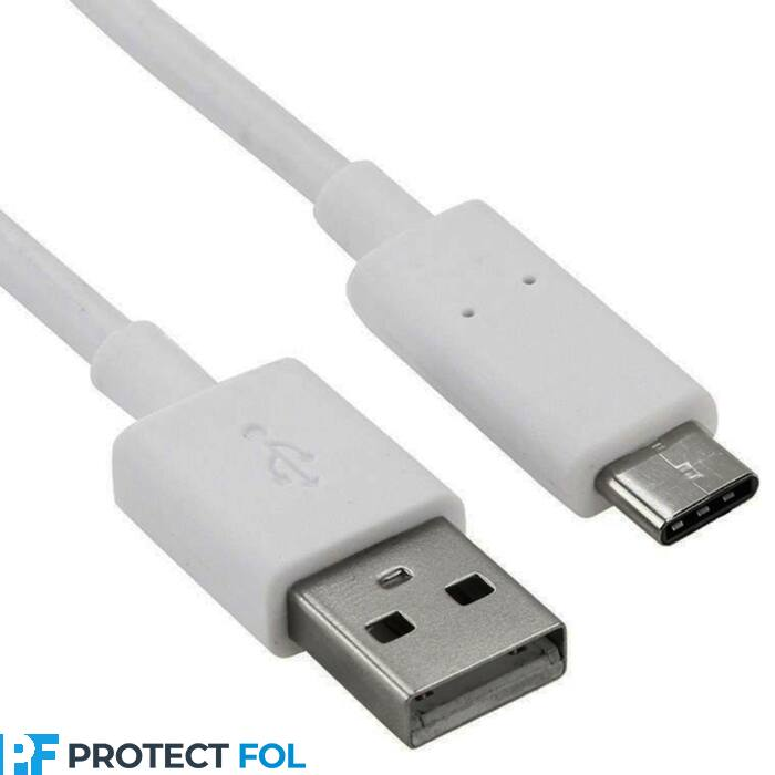 Type-c USB kábel 3M, fehér